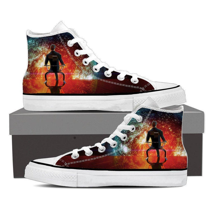 Mass Effect Illusive Man Cerberus Converse Sneaker Shoes