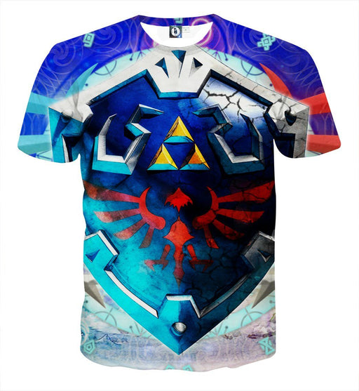 The Legend Of Zelda Cool Skyward Sword Hylian Shield T-shirt