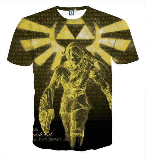 The Legend Of Zelda Link Phoenix Symbol 3D Print T-Shirt