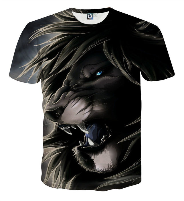 Lion King Scar Cartoon Character Urban Style T-Shirt