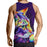 Cat Face Colorful Fan Art Drawing Pretty Design Tank Top - Superheroes Gears