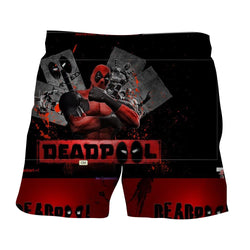 Deadpool The Winner Style Funny Design Full Print Short