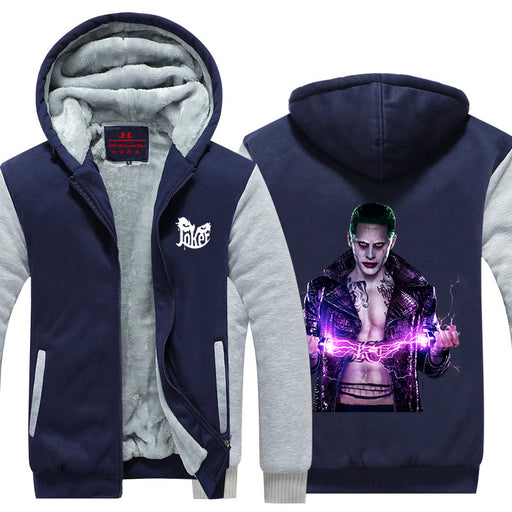The Joker Suicide Squad Portrait Movie Cool Hooded Jacket