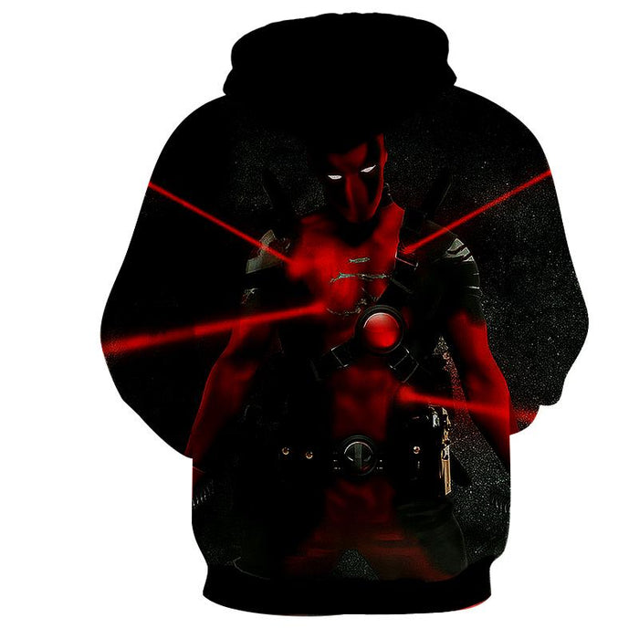 Antihero Deadpool Kills On Sight Dope Design Full Print Hoodie