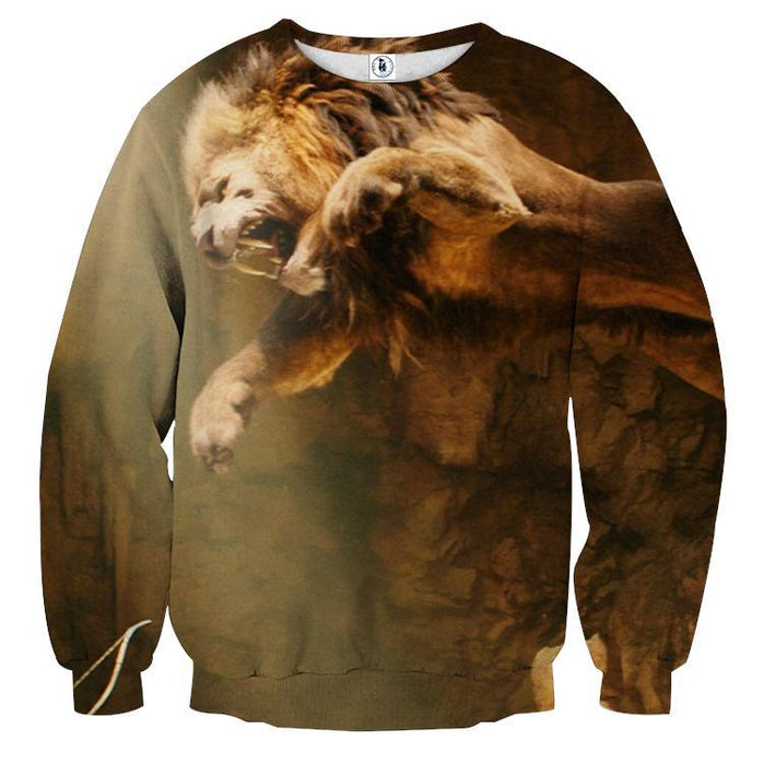 Nemean Greek Mythology Monster Movie Theme Urban Sweatshirt