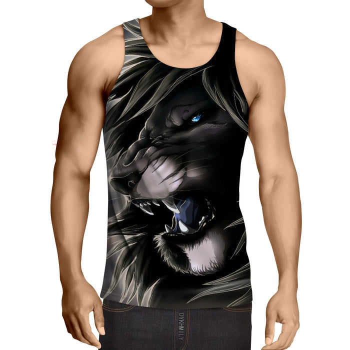 Lion King Scar Cartoon Character Urban Style Tank Top