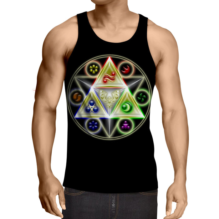 The Legend Of Zelda Stunning Symbol Of The Time Tank Top
