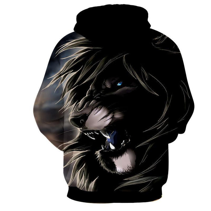 Lion King Scar Cartoon Character Urban Style Hoodie