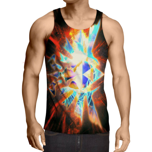 The Legend Of Zelda The Symbol With Lighting Thunder Tank Top