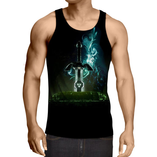 The Legend Of Zelda Powerful Awesome Skyward Sword Tank Top
