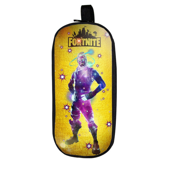 Fortnite Battle Royale Galaxy Epic Skin Yellow Pencil Case