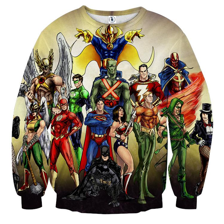 Justice League DC Superheroes All Characters Cozy ...