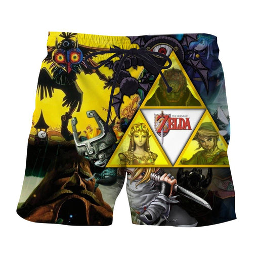 The Legend Of Zelda Link Princess Zelda And Ganon Shorts