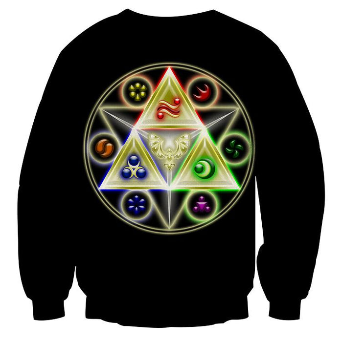 The Legend Of Zelda Stunning Symbol Of The Time Sweater