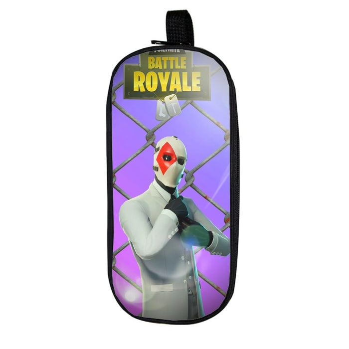 Fortnite Battle Royale Caged High Stakes Purple Pencil Case