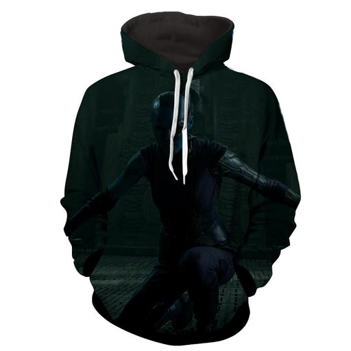 Guardians of the Galaxy Nebula Killer Cool 3D Design Hoodie - Superheroes Gears