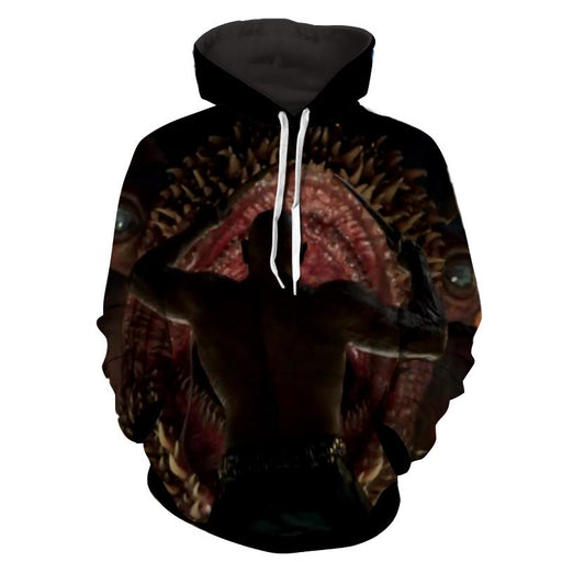 Guardians of the Galaxy Drax Fighting Monster Full Print Hoodie - Superheroes Gears