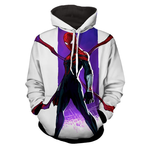 Superior Spiderman Dope White 3D Print Hoodie