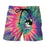 Cat Ghost Eyes Thunder Colorful Light Graphic Design Shorts - Superheroes Gears