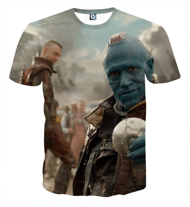 Guardians of the Galaxy Yondu Expert Archer Portrait Dope T-shirt - Superheroes Gears