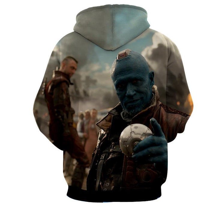 Guardians of the Galaxy Yondu Expert Archer Portrait Dope Hoodie