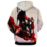 Funny Deadpool Riding Iron Man Meme Style 3D Print Hoodie