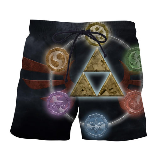 The Legend Of Zelda Phoenix Symbol of Time Dope Shorts