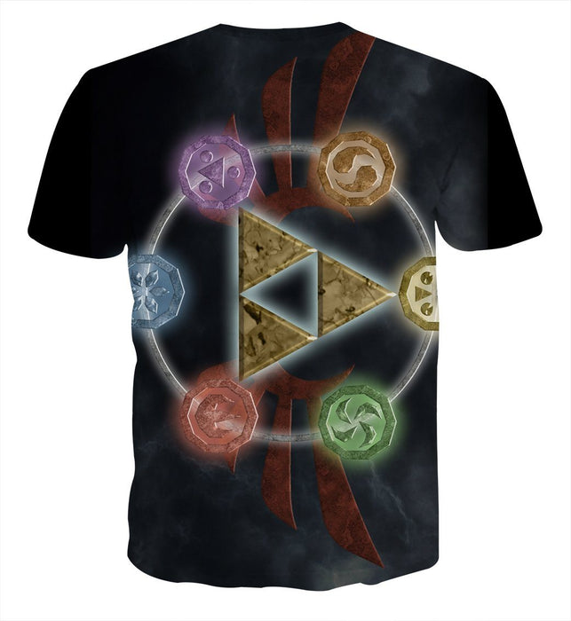 The Legend Of Zelda Phoenix Symbol of Time Dope T-Shirt