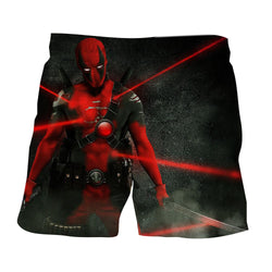 Antihero Deadpool Kills On Sight Dope Design Full Print Short