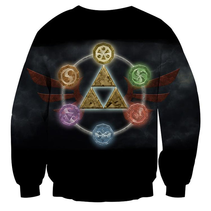 The Legend Of Zelda Phoenix Symbol of Time Dope Sweater