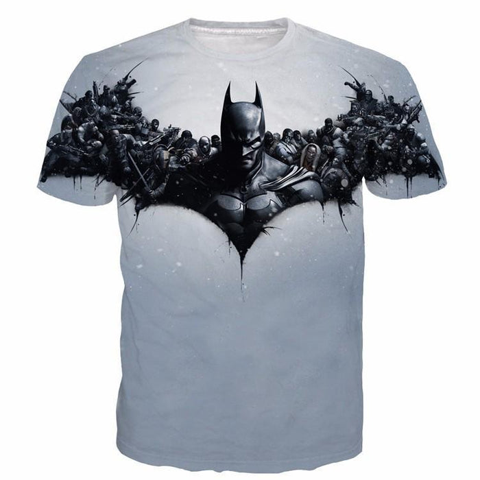 Batman DC Hero Villains Symbol Simple Dope Style T-Shirt - Superheroes Gears