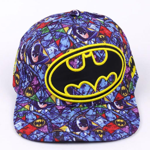 Batman Logo Cool All Style Blue Streetwear Baseball Snapback - Superheroes Gears
