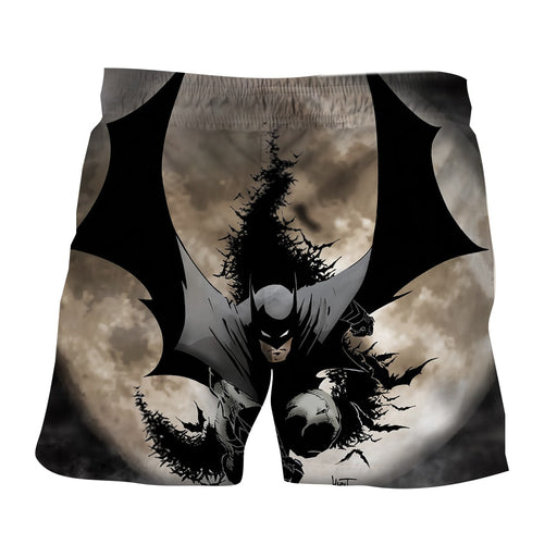Batman The Dark Knight Ready To Save Full Print Short - Superheroes Gears