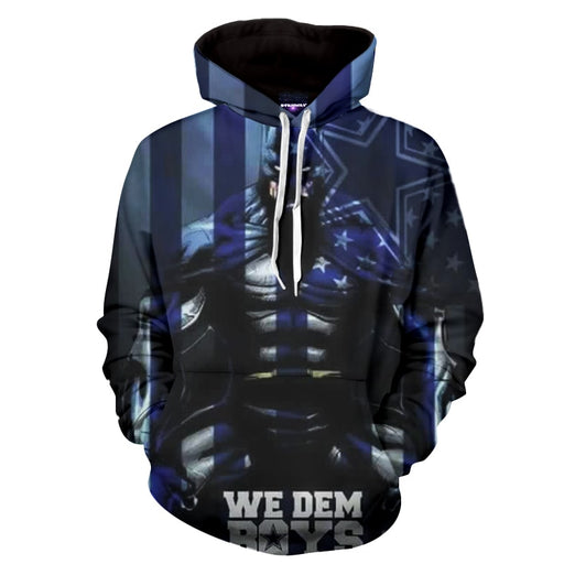 Batman The Fighter Against Strikes Terror Full Print Hoodie