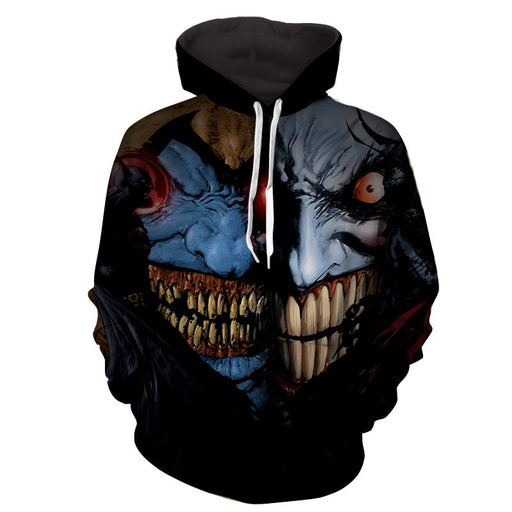 Batman V Joker Face Off Cool Design Full Print Hoodie