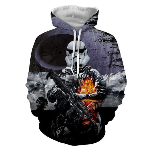 Star Wars Battlefront Storm Troopers Trending Cool Design Hoodie