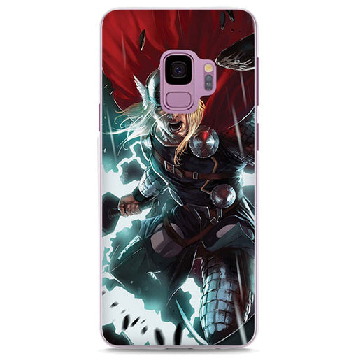 Thor God Of Thunder Cool Comic Samsung Galaxy Note S Case