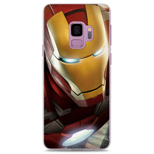 Iron Man Close Up Flying Cool Samsung Galaxy Note S Series Case