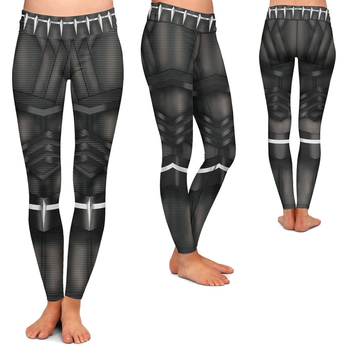 Black Panther Stylish Cosplay Women Leggings Yoga Pants - Superheroes Gears