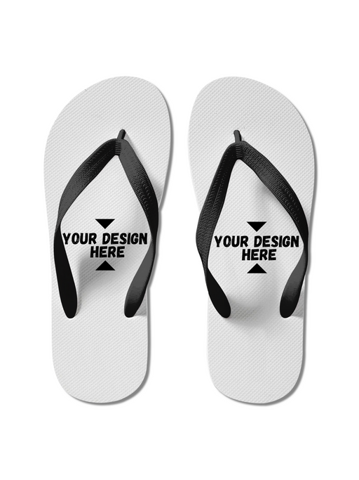 Personalized Cool Custom Print Superhero Flip Flops