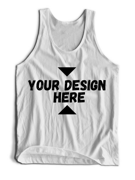 Personalized Custom High Quality Superhero Tank Top