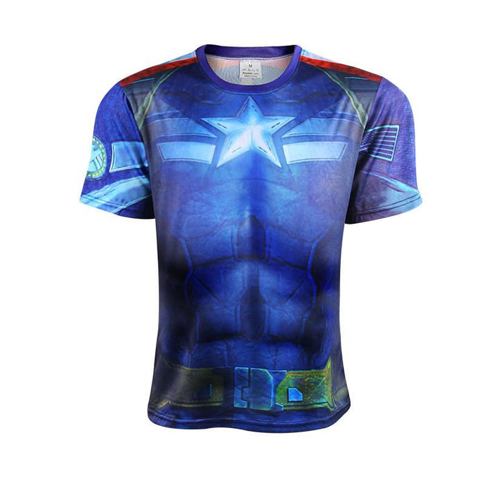Captain America Age of Ultron Edition Costume Cool Trendy T-shirt