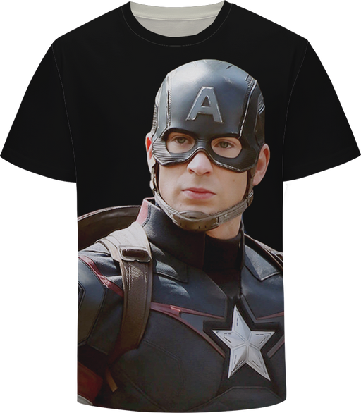 Cool Captain America Avengers Cinematic Universe T-shirt