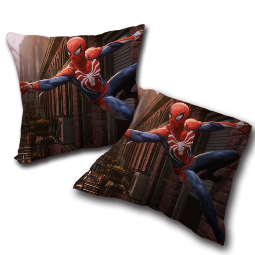 Cool Spider-Man Wall Clinging Decorative Throw Pillow