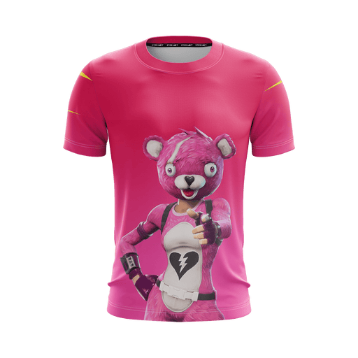 Cuddle Team Leader Fortnite Inspired Pink Awesome T-Shirt