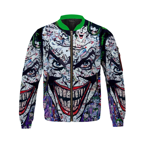 Awesome Timeless All Joker Villain Bomber Jacket
