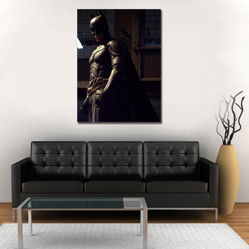 DC Batman The Dark Knight Side View Pose 1pc Canvas Print