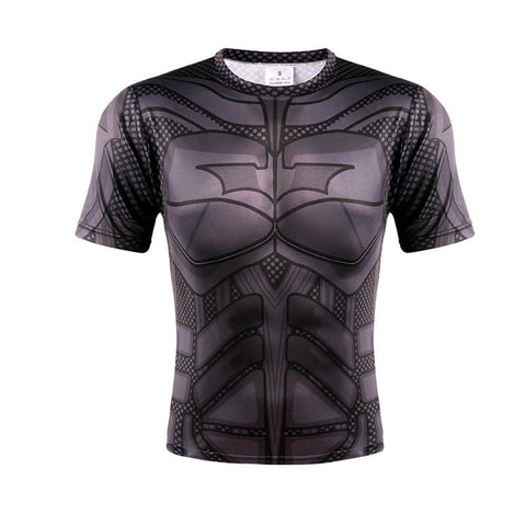 DC Comic The Dark Knight Awesome Full 3D Printed Fitness T-shirt