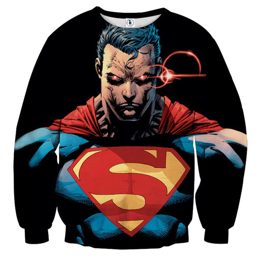 DC Comics Superman In Beast Mode Full Print Sweatshirt