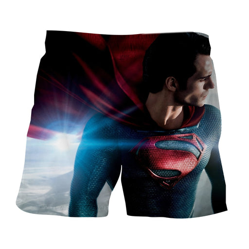 DC Comics Superman Side View Dope Design Boardshorts